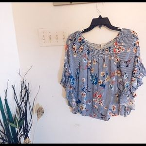 Women's size Small off-shoulder top